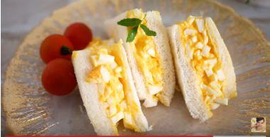 サンドイッチの王道!タマゴサンド