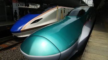 青森の新幹線