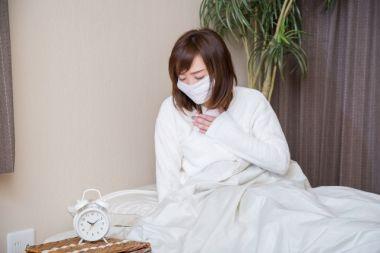 病気の女性