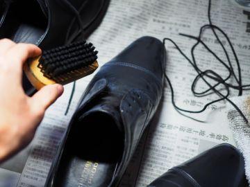 革靴のお手入れ