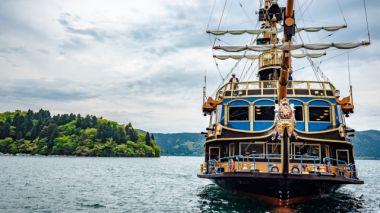 海賊船っぽい船