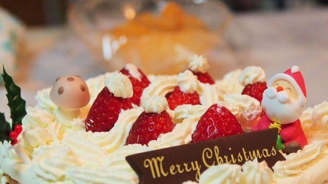 サンタのクリスマスケーキ
