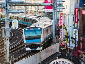 京浜東北線の電車画像